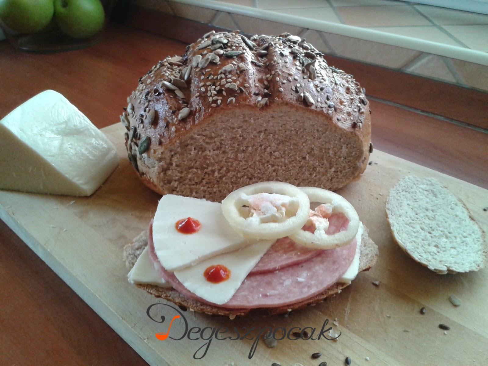 Rozsos-magos kenyér