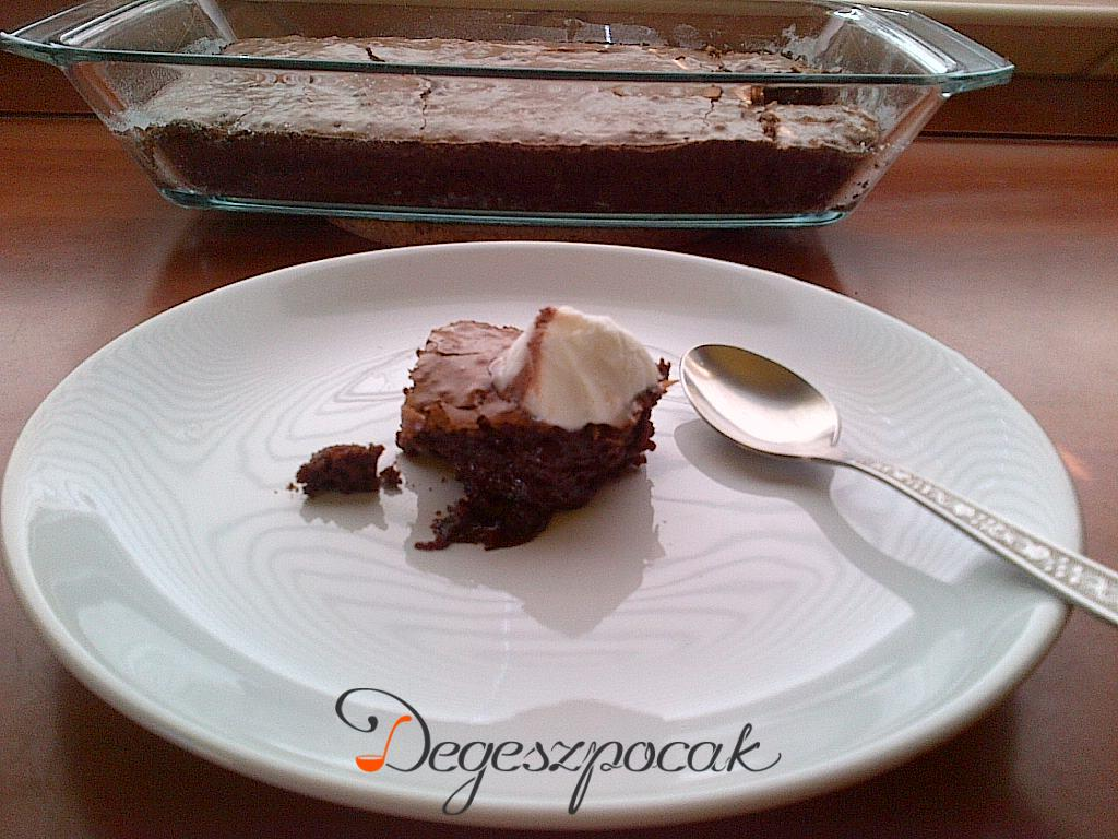 Brownie – ahogy Rákóczi Feri készíti