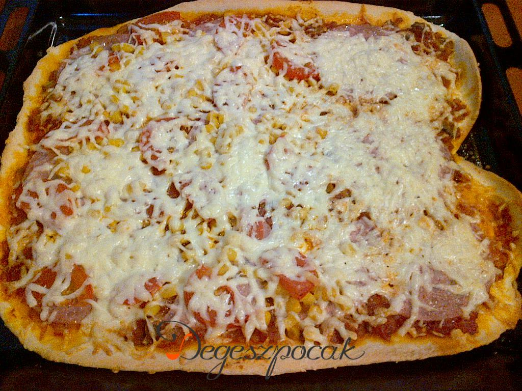 Újabb variáció pizzára