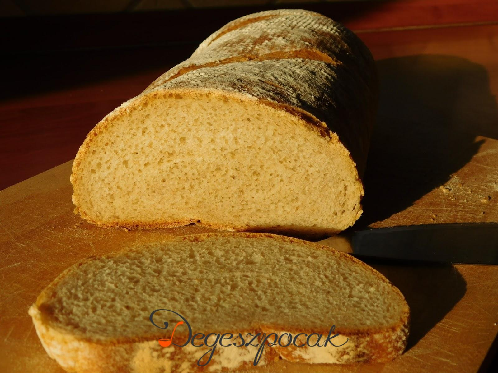 Vegyeslisztes kenyér