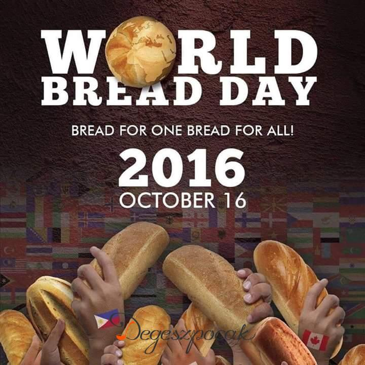 Közeledik a kenyér világnapja