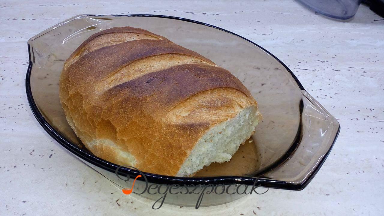 Első közös kenyérsütés