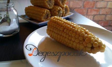 Elronthatatlan nyári finomság: főtt kukorica