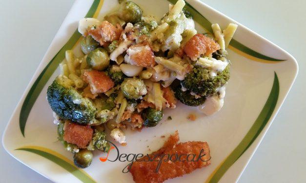 Csőben sült brokkoli fetával
