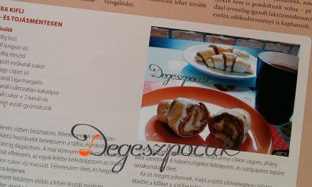 Büszkeség: megjelent a receptem egy magazinban!