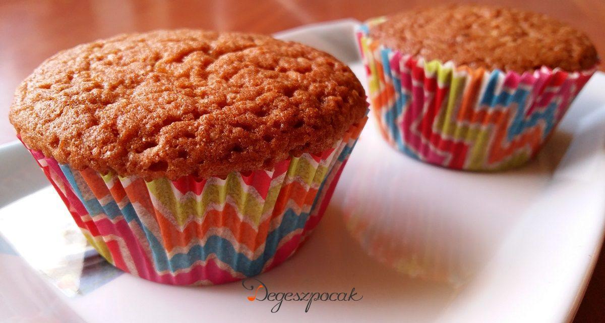 Kávés muffin tejmentesen