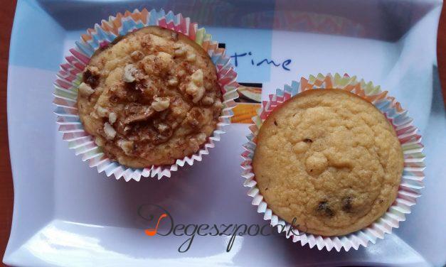 Gluténmentes és tejmentes muffin