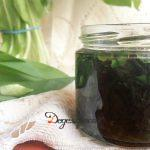 Medvehagyma olajban